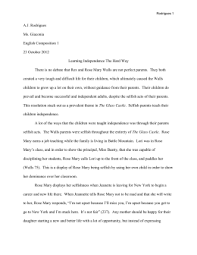 english iii dual credit the glass castle essay topics you must use file aj rodrigues
