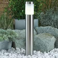 albus warm white led outdoor post light