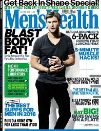 the january february issue of men s health including the full fitness programme is