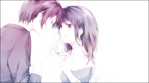 anime couple wallpaper
