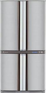 sharp side by side refrigerator. sharp sjf82sl3 side by refrigerator