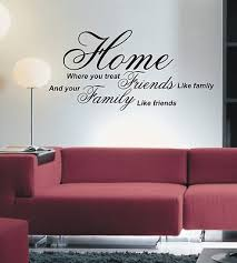 on home wall art quotes with home where you treat wall art sticker quote 4 sizes wa15