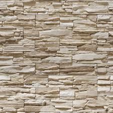 Peças finas para aplicação em revestimento de paredes. Papel De Parede Adesivo Pedra Canjiquinha