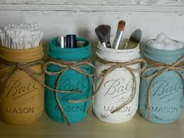 Painted Mason Jars Mason Jars Finished With Chalk Paintar Decorative Paint By Annie