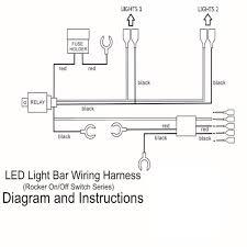 12v 24v 300w led light bar work light wiring harness 40 amp relay