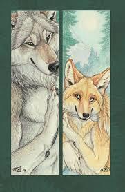 Osrik and Yote Bookmarks by Goldenwolf on DeviantArt | Furry art, Furry,  Kitsune fox