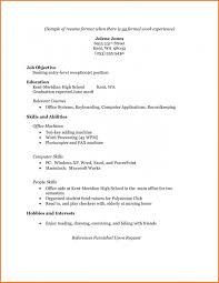 Resume Sample Simple