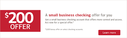 a small business checking offer for you get a small business checking check small
