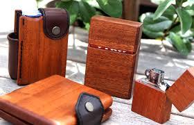 life life wood leather cigarette case box for box 100 s nanotek nanotec container leather