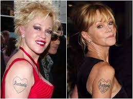 8 голливудских знаменитостей которые пожалели о своих татуировках