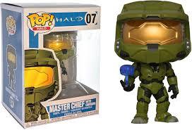<b>Funko POP</b>! Vinyl <b>Фигурка</b> Games: <b>Halo</b> S1 Master Chief w/ Cortana ...