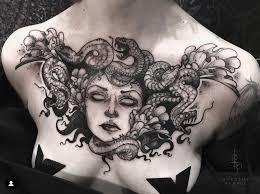 Medusa Por Dorothy Purple эскиз тату татуировка с медузой
