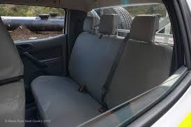 black duck canvas seat covers ford transit vn custom van 1 2016 5 2018 grey