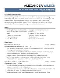 supply technician resume sample best medical supply technician resumes resumehelp