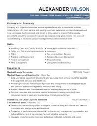 supply technician resume sample best medical supply technician resumes resumehelp