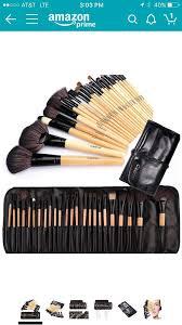 new 24 piece makeup brush set