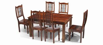 indian dining table 6 chairs. indian style dining table and chairs elegant jali sheesham 160 cm chunky 6