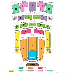 Orpheum Theatre Omaha Seating Chart