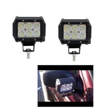 Work Light Replacement Parts Us 23 78 50 Off Ecahayaku 2pcs Flood Beam 4inch 12v Led Light Bar 6000k 2400lm Led Chip Spot Auto Replacement Parts For Jeep Bmw Audi Daf Honda In
