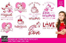 Pikbest has 98 kids valentine card design images templates for free. Magical Valentine Unicorn Valentine S Day Svg Files 161365 Cut Files Design Bundles