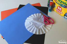 Get out your favorite craft supplies and a few coffee filters to create these 24 fun projects with your kiddos!. Coffee Filter Crafts For Kids Coffee Filter Snowman Craft Look We Re Learning