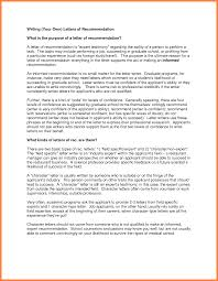 Graduate School Letter Of Recommendation From Employer Impression
