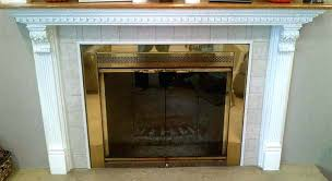 cover fireplace mantel insulated magnetic decorative fashion gas covers