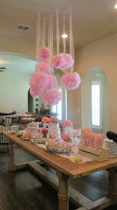 Paper Flower Balls To Hang From Ceiling Tissue Paper Flowers Hanging From Ceiling Party Decor How