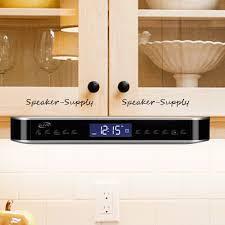 iLive Wireless Bluetooth Under Cabinet Kitchen Music System FM ...