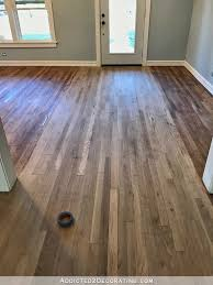 staining red oak hardwood floors 4 entryway and living room wood conditioner