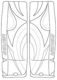 Small Picture 8 Images of Hockey Goalie Glove Coloring Pages Hockey Goalie