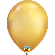 Qualatex Balloons Color Chart Amazon Com 11 Inch Chrome Gold Latex Balloons 100 Count