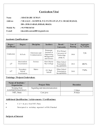 TCS CV Format. Curriculum Vita Name : SHAURABH SUMAN Address : VILLAGE: -  RAMPUR, P.O: PATIYAWAN ...