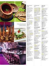 Blue Light Grill Menu Concierge Dubai Magazine October 2013 By Npimedia Fz Llc
