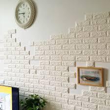 5 types 3d brick wall decal living room waterproof wall sticker home decor hot