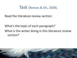 Sample Of Literature Review Apa Style Literature Review Apa 6th Edition Best And Reasonably