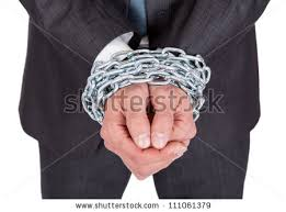 Image result for pictures of men bound in chains