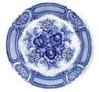Роспись тарелки из гжели