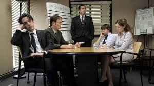 the office the meeting. High Quality The Office Team Meeting Blank Meme Template