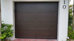 walnut garage doorsHaas Recessed Panel Garage Door  Automated Home Services Inc