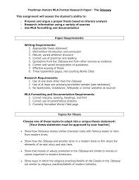 MLA Format Sample Paper   th Edition   MLA Format