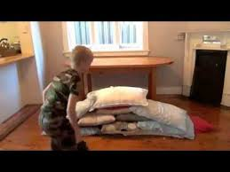 How to make a pillow fort YouTube