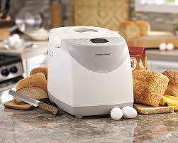 kitchen pro bread maker pan amazoncom hamilton beach   pound bread maker white discontinued bread