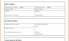 Employee Injury Incident Report Form Template Writing Sample