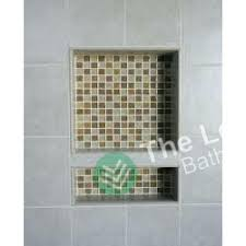 double niche in shower preformed double recessed shower niche ready to tile waterproof home ideas double niche in shower