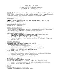 Criminal Justice Resume Amazing Criminal Justice Resume Examples Foodcityme