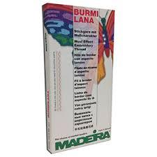Madeira Burmilana Burmilanaco 12 Color Card