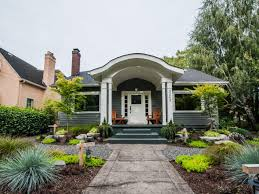 Curb Appeal Tips For CraftsmanStyle Homes HGTV - Exterior paint for houses