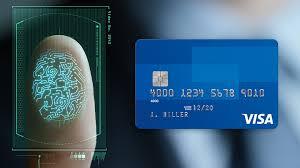 Biometric Payment Card Visa