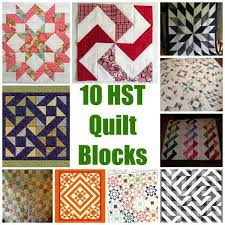 1225 best Quilt blocks images on Pinterest | Quilt blocks ... & HST (or Half Square Triangle) quilt blocks can be one of the most versatile Adamdwight.com